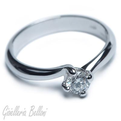 Anello Ethical Diamond - fitia 0,30